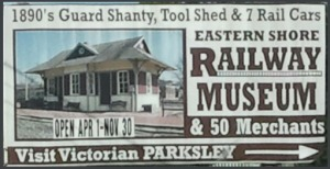 1890's Guard Shanty, Tool Shed & 7 Rail Cars.