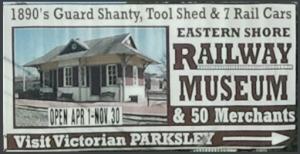 1890's Guard Shanty, Tool Shed & 7 Rail Cars.