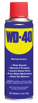 40 little known uses for wd 40 and other urban legends for Wd40 fish oil