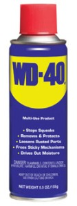 WD-40 spray lubricant