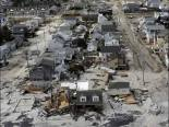 Devastation from Hurricane Sandy - image from the Examiner.com