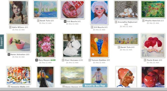DailyPaintworks Hurricane Sandy Relief Screenshot 2