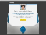 LinkedIn Top 1% Most Viewed Profile