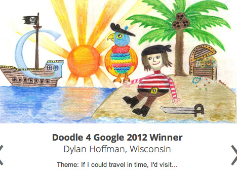 2012 Doodle for Google logo competition for kids