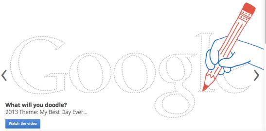 Google Doodles 2013 Logo Design Contest