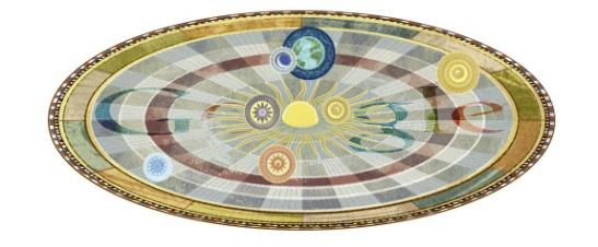 Astronomer N. Copernicus Google Doodle