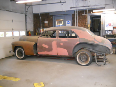 antique auto for sale 1946 cadillac series 62 project car