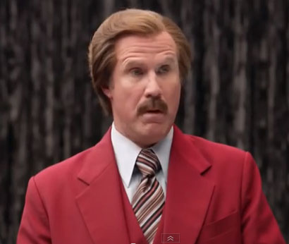 Will Ferrell as Ron Burgundy, Dodge Durango's New Spokesman