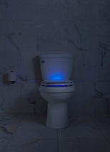 Glow in dark toilet from Kohler